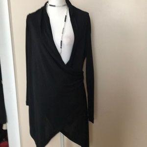 Jean Paul Gaultier wrap blouse